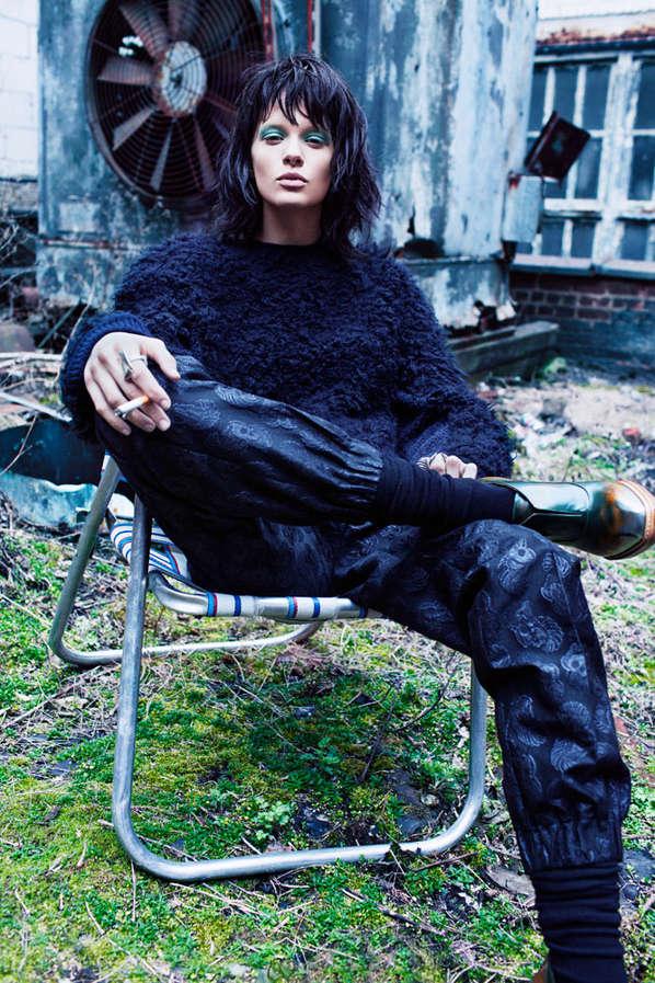 Uptown Grunge Fashion