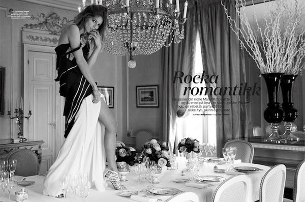 Romantic Rocker Editorials