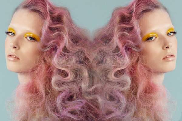 Cotton Candy Coiff Editorials