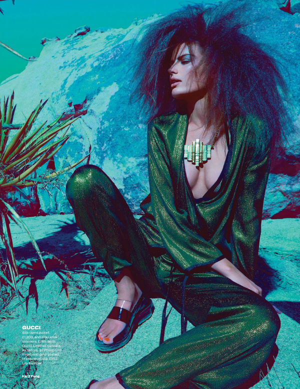 Tousled Desert Editorials