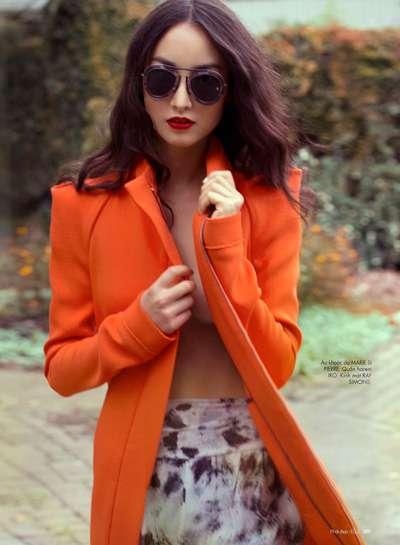 Vibrant Tangerine Toppers