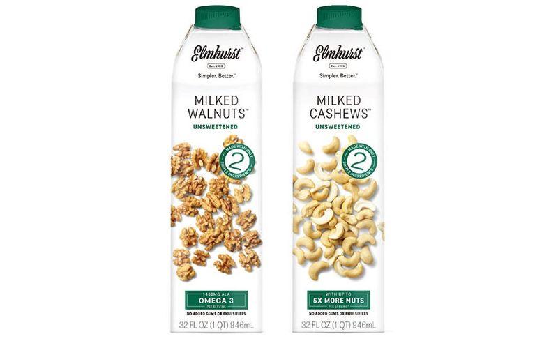 Nutritious Unsweetened Nut Milks