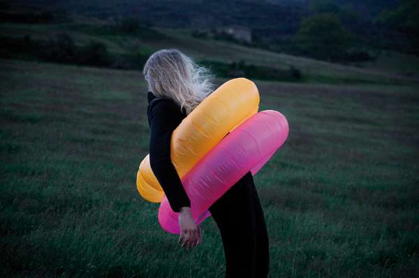 Intimate Inner-Tube Editorials