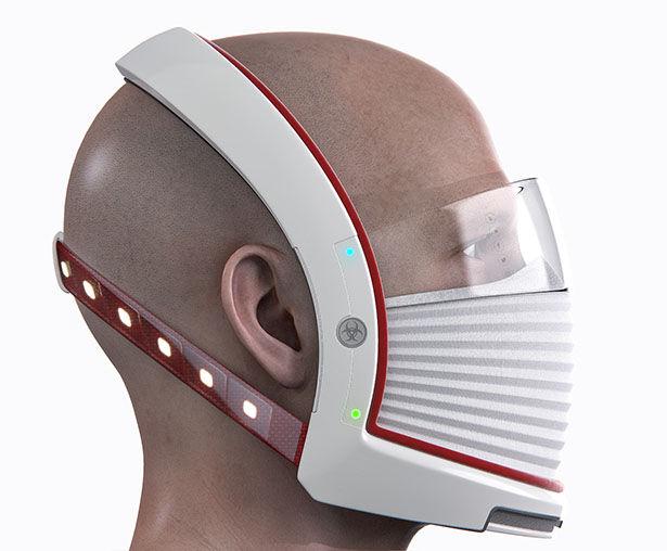 Futuristic Full-Face Protectors