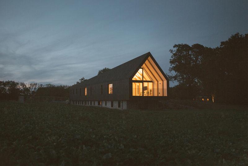 Remote Elongated Barns