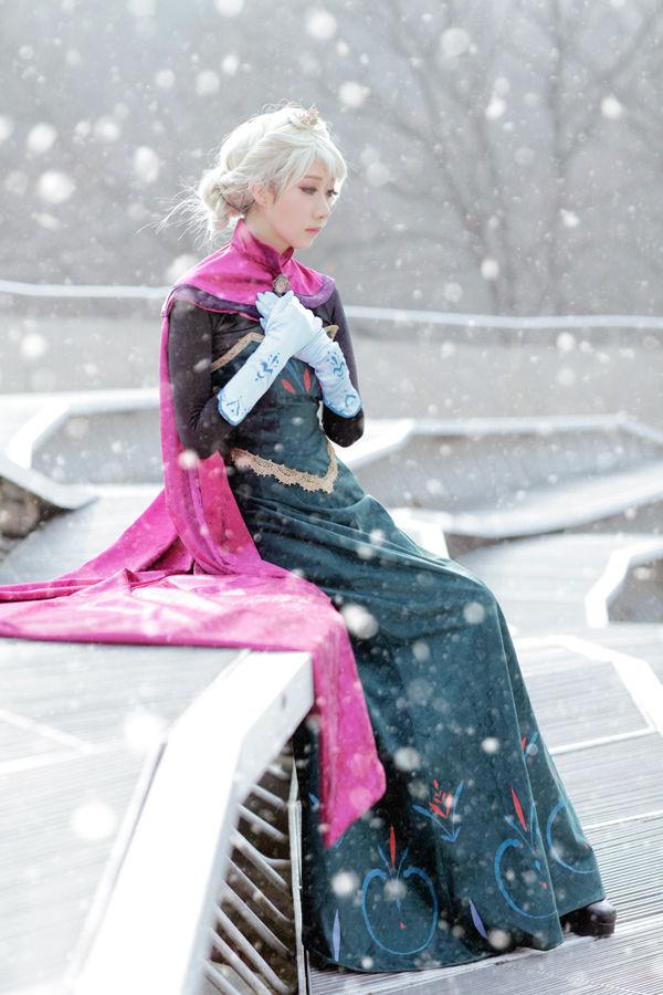 disney ice queen costumes elsa cosplay