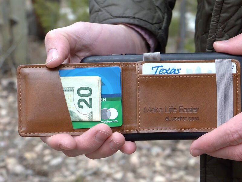 Peel-and-Stick Smartphone Wallets