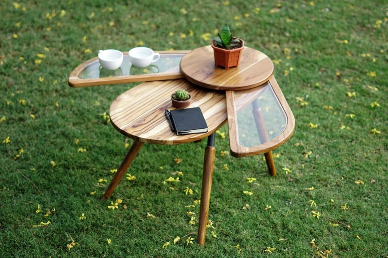 Beetle-Inspired Side Tables