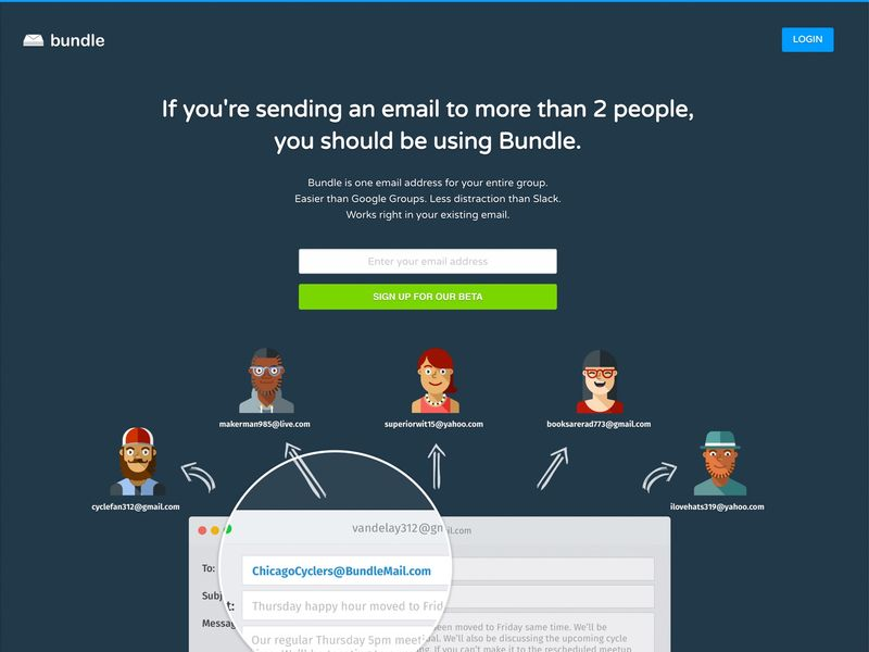 Group Email-Combining Solutions