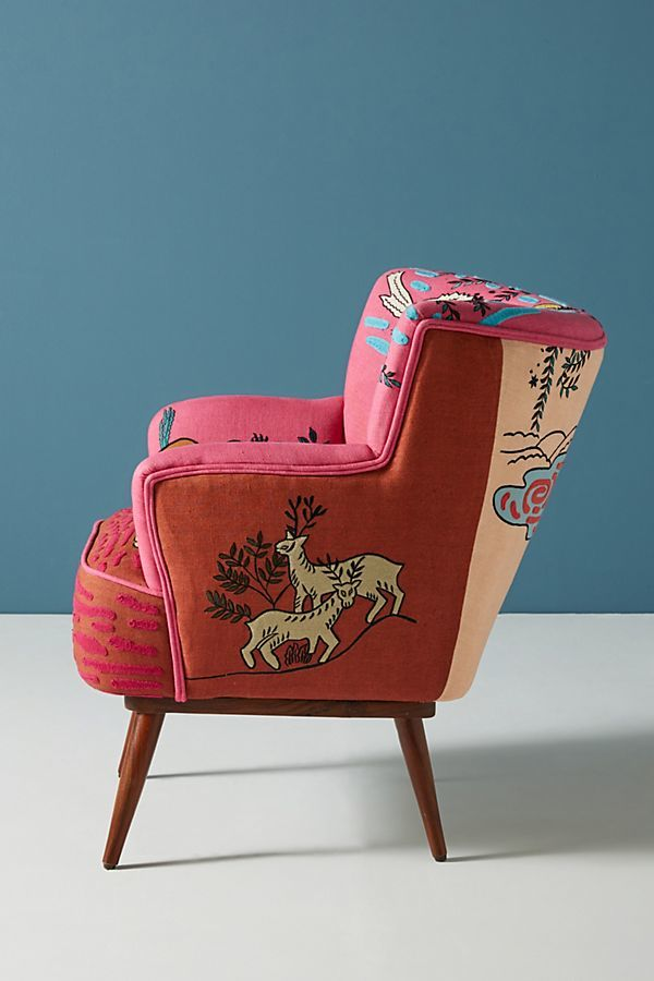 Quirky Embroidered Chairs Embroidered Chair