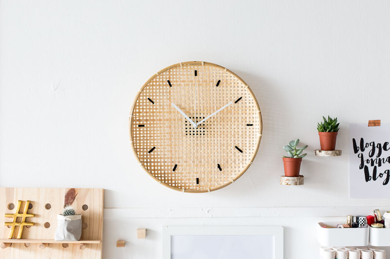 Embroidered Clock DIYs