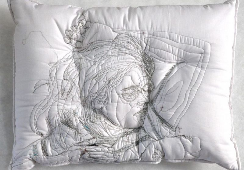 Sleep Imprint Pillow Art