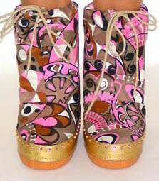 Emelio Pucci Moon Boots