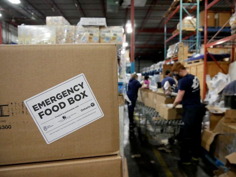 Emergency Food Box Programs