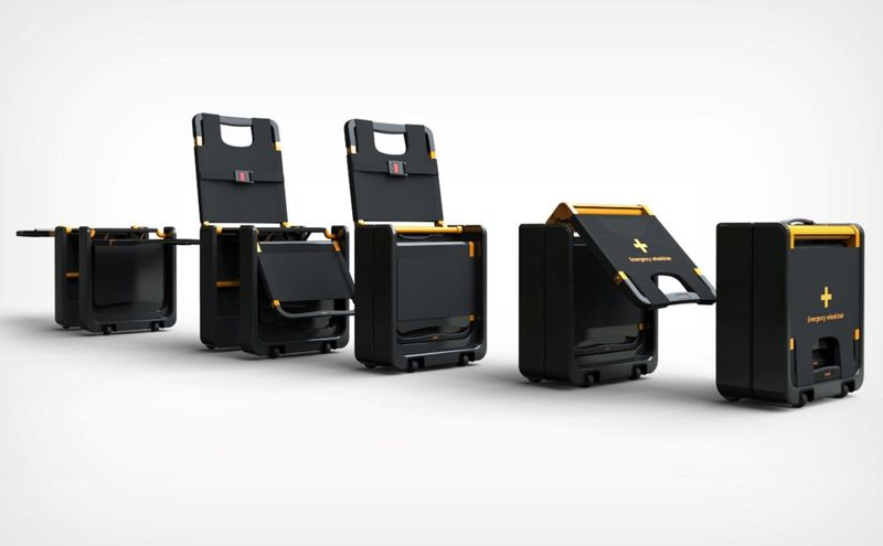 Collapsible Suitcase Wheelchairs