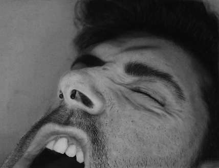 Hyperreal Pencil Drawings
