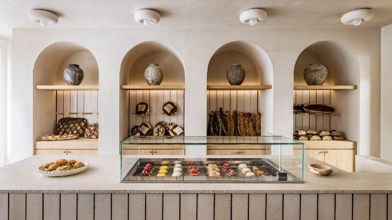 Warm-Toned Parisian Bakeries