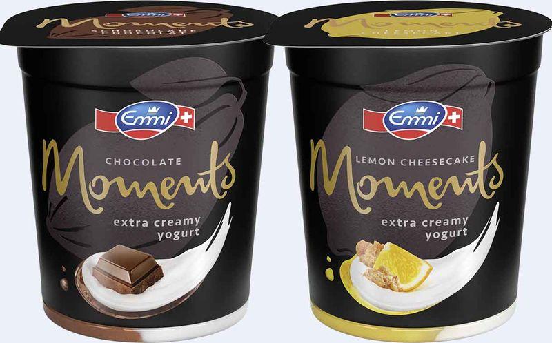 Indulgent High-Fat Yogurts