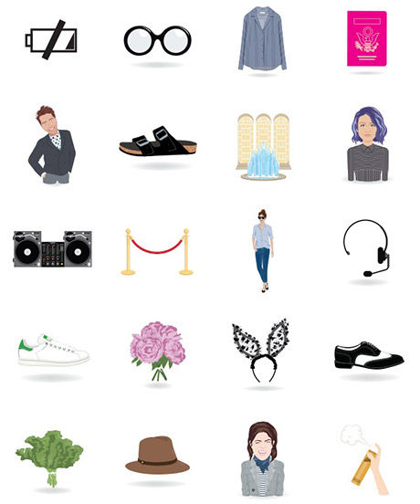 Custom Couture Emojis