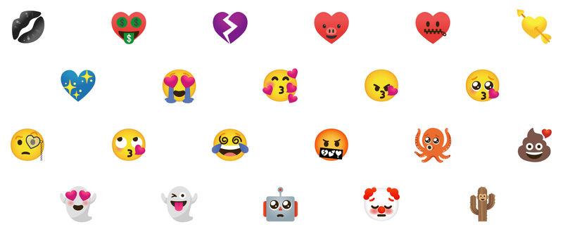 Emoji Hybrid Stickers