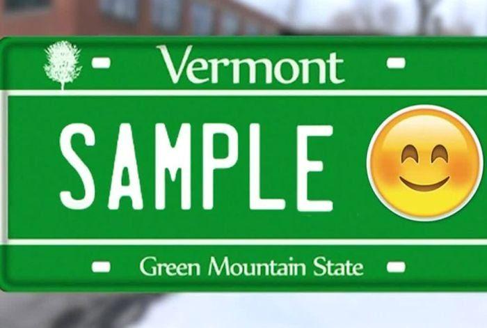 Customized Emoticon License Plates