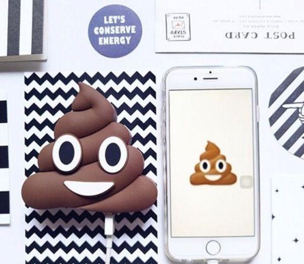Emoji-Shaped Power Banks