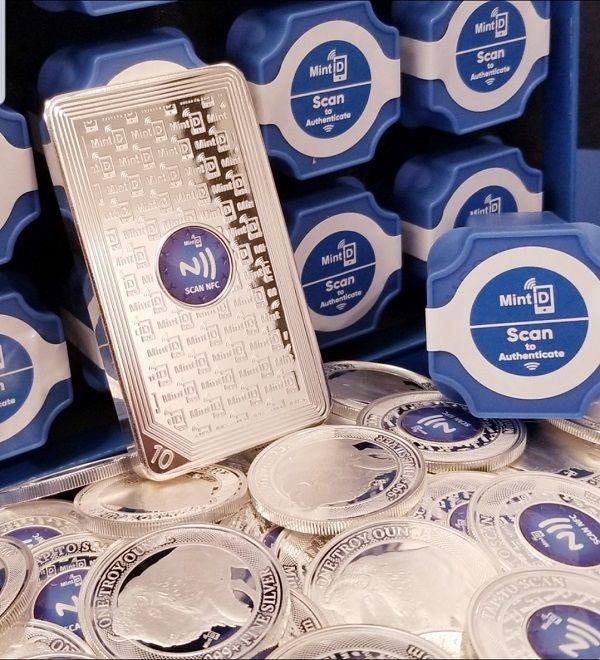 NFC-Protected Precious Metals