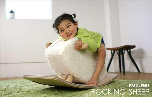 Fluffy Baby Rockers