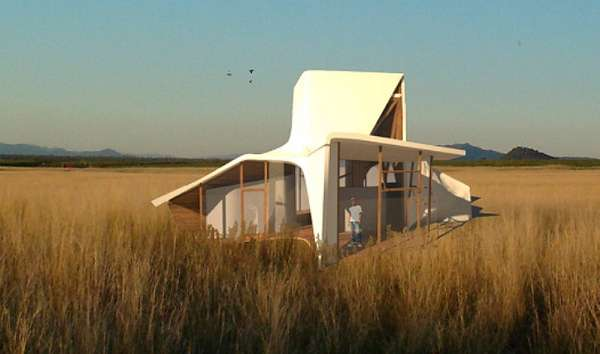 Futuristic Farm Houses