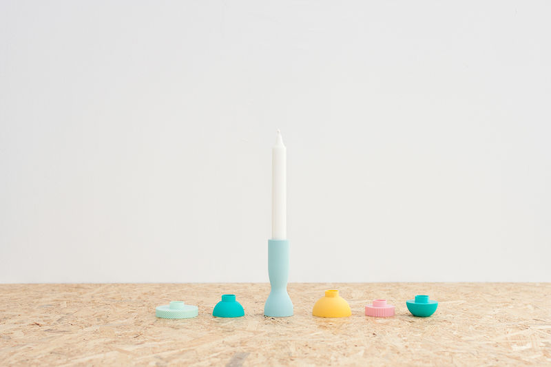 Shapely Modular Candle Holders