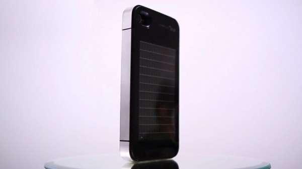Slim Solar-Powered Smartphone Sleeves