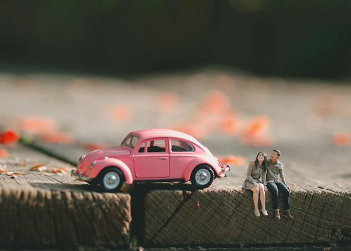 Miniature Engagement Photos
