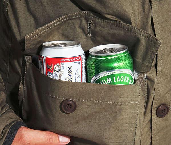 Booze Concealing Overcoats