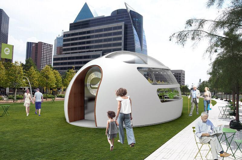 Community-Building Horticultural Pods