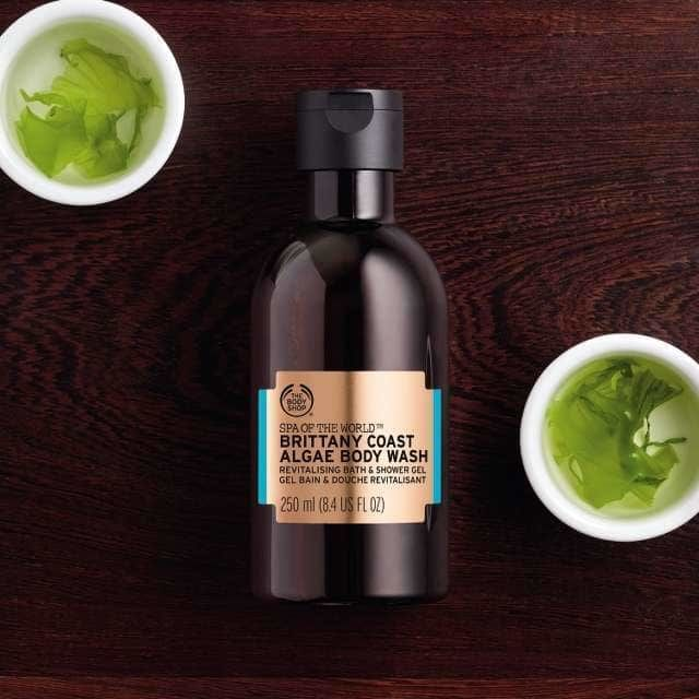 Algae-Enriched Body Washes