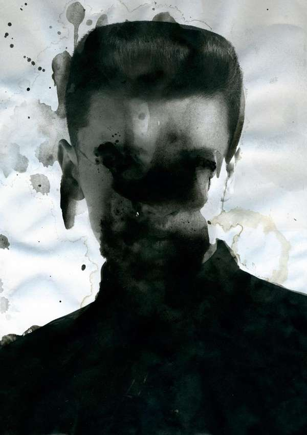 dreary distorted portraits enrico nagel second sight