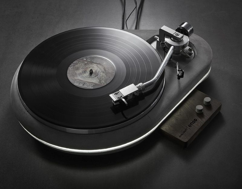 Sturdy Concrete Turntables