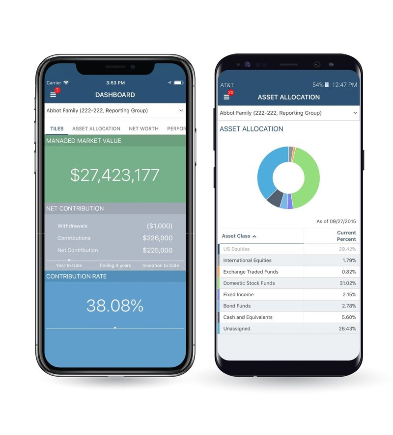 On-the-Go Wealth Management Apps