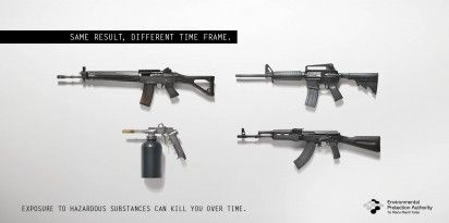 Killer Hazardous Substance Ads
