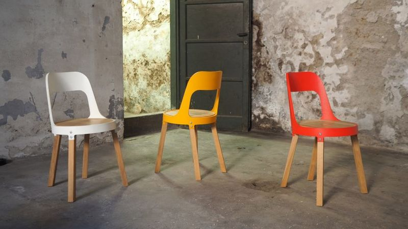 Colorful Eco-Friendly Chairs
