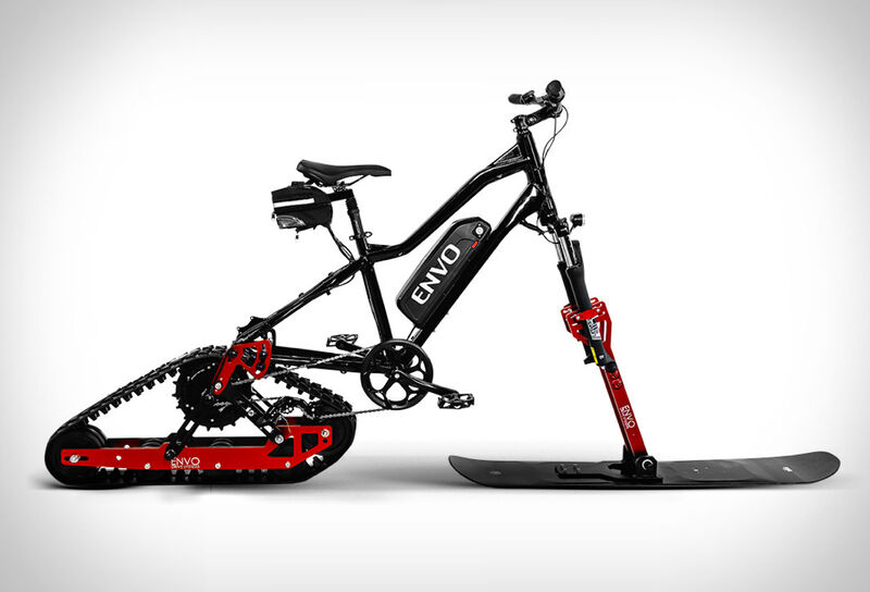 Winterized Electric Bicycle Kits