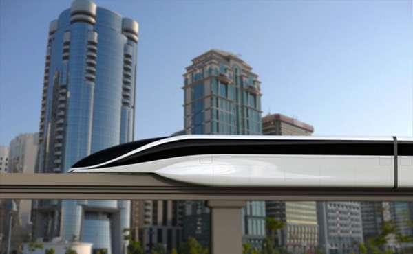 300mph Magnetic Mass Transit