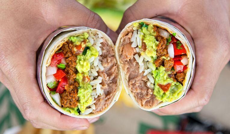 Hefty Vegan-Friendly Burrito
