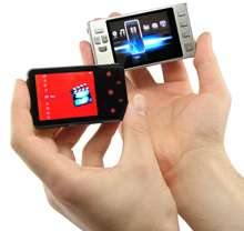 Credit Card Sized Digital Video Player