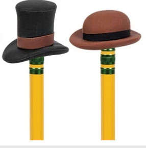 Dapper Pencil Headwear