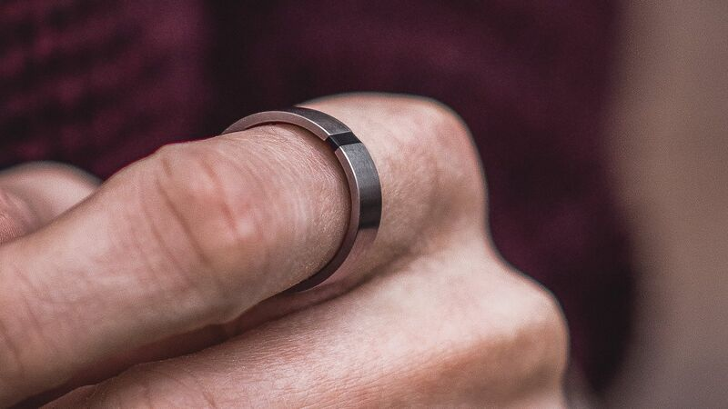 Masculine Ergonomically Designed Rings