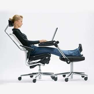 43 pieces of ergonomic furniture