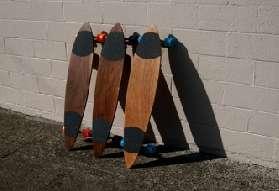 Salvaged Skateboard Decks