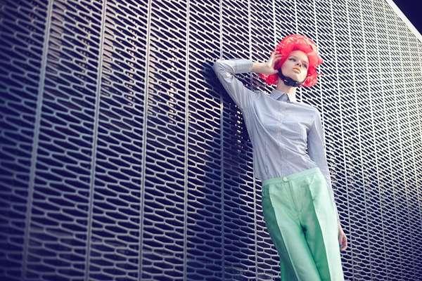 Funky Headwear Photography