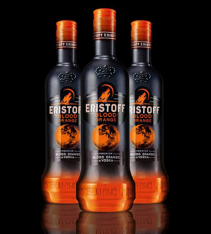 Vibrant Vodka Branding
